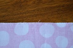 How To Finish Seams With A Sewing Machine