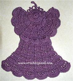 Angel Dishcloth - Media - Crochet Me
