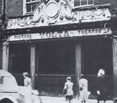 The Volta Electric Theatre was a film theatre in Dublin and was Ireland's first dedicated cinema. Dublin Street, Dublin City, James Joyce, Old Pictures, Old Photos, Old Irish, City Roller, Emerald Isle, Local History