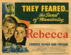 Lobby Card from the film Rebecca