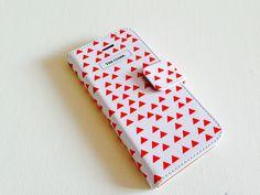 iPhone cace ▲ さんかく #illustration #illustrator #design #iphoneケース #手帳型スマホケース #さんかく #triangles