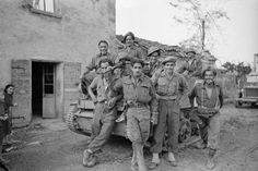Crew of a New Zealand (Maori) Battalion Bren carrier, waiting to move up to the front lines from the town of Gambettola in Italy. Photograph taken circa 19 October 1944 by George Frederick Kaye. West Papua, Defence Force, Lest We Forget, British Army, World War Two, Wwii, New Zealand, Mount Rushmore, The Past