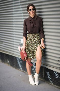 Paquita feelings: a botinha branca é a nova queridinha do street style…