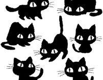Cats of various by Toru Sanogawa