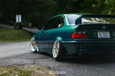 BMW E36 M3 green dapper no bags