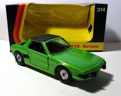 Corgi Toys 314 FIAT X1/9 Bertone 1975 BOX #Corgi #LotusElite