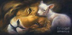... - Lion And lamb | Art | Pinterest