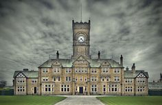High Royds Asylum; it's the most beautiful asylum I've ever seen. Don't ask how many I've seen.