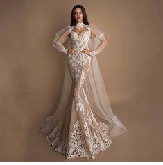 Elegant A-line wedding dress with thin straps . - Elegant A-line wedding dress with thin straps dress - # Bohemian Style Wedding Dresses, Pretty Wedding Dresses, Bridal Dresses, Wedding Gowns, Bridesmaid Dresses, Bohemian Weddings, Bohemian Bride, Gorgeous Wedding Dress, Indian Weddings
