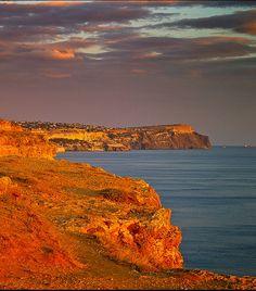 Black Sea , Crimea, Ukraine , from Iryna