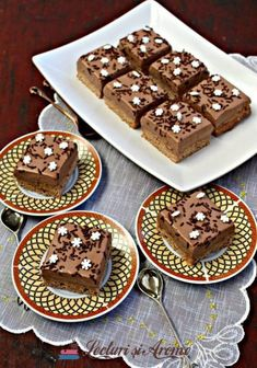 Delicious Chocolate, Chocolate Desserts, Sin Gluten, Romanian Desserts, Top 15, Gluten Free Recipes, Caramel, Sweet Treats, Cheesecake