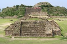 Monte Alban. Mexico. City of the Zapotecs.