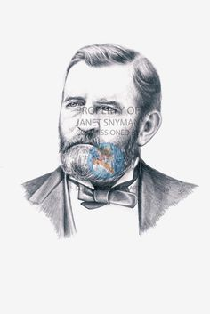 President Ulysses S. Grant is staring into the future and he told us to let you know; that the future is bright for your history classroom IF you buy these most perfect depictions of the presidents of the United States.  #historicalfigures #history #teachthemkids #teaching #learning #surferkidsclipart #drawings #art #ulyssessgrant #presidents #usa #america