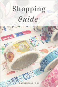 Shopping guide   Washimagic.com