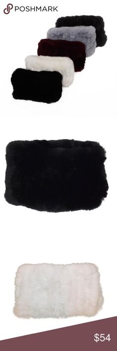 Rex Rabbit Fur Headband Stay warm in style with this super soft rabbit fur headband!  -Genuine Rabbit Fur -One size fits all Accessories Hair Accessories