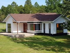 Small Modern House Plans, Small Tiny House, Rural House, Bungalow House Plans, Architectural House Plans, Model House Plan, Stone Cottages, Adobe House, Simple House Design