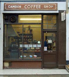 Camden Coffee Shop. Established 1950.