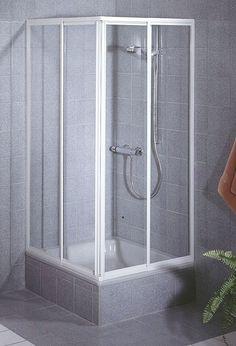 Schulte Schulte shower Sunny Corner entry, 2-piece art glass