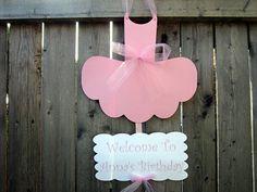Items similar to Ballerina Baby Shower Banner - - Tutu Baby Shower, Ballet Baby Shower - It's a Girl Banner on Etsy Ballerina Birthday Parties, Ballerina Party, Happy Birthday Parties, Birthday Tutu, 3rd Birthday, Tutu Cupcakes, Ballerina Cupcakes, Ballet Baby Shower, Ballerina Baby Showers