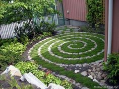 Would love to do this on a much smaller scale for either front or back yards
