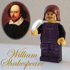 William shakespeare Lego