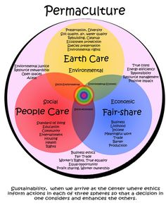 Permaculture is a branch of ecological design, ecological engineering, environmental design, construction and integrated water resources management that develops sustainable architecture, regenerat…