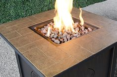 Pros and Cons of the Compact, Yet High-Power Lari Gas Fire Table, Plus Easy Assembly Instructions, Tips on Using Fire Glass and How it Saves You Money. Outdoor Propane Fire Pit, Gas Fire Pit Table, Fire Glass, Antiques, Outdoor Decor, Compact, Bond, Tables, Tips
