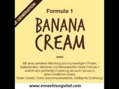 NEU  Formula 1 Banana Cream Banana Cream, Formula 1, F1, Videos, Shake, Youtube, Make It Yourself, Blog, Healthy Meals