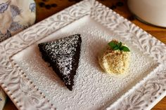 Chocolate Cake with Coffee Mousse | saraheatsaustin