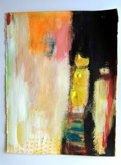 In darkness there is color. Look deep and go through, Lightness. Magaly Ohika #colorful #abstract #art
