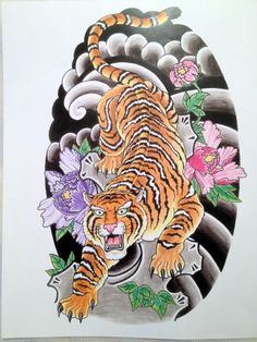 057c83d82 28 Best Japanese Tiger Tattoo images in 2017 | Japanese tiger tattoo ...