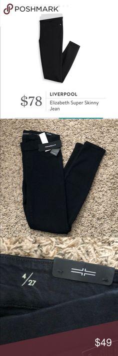 NWT Liverpool Elizabeth Black skinny jean NWT Liverpool Elizabeth Black skinny jean Liverpool Jeans Company Pants Skinny
