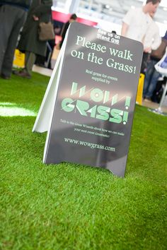 Event Idea of the Day: Transform your event space into a colorful, outdoor design using Synthetic Grass. You may even consider using grass to reflect a design or logo. Synthetic Grass can be used for outdoor events, golf/sporting events, grass aisle runners for weddings, movie/television sets, events with animals, tradeshow booths and exhibits. #eventideas #eventtrends #eventprofs #eventproducers #eventplanners #wowgrass