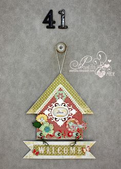 Goods for scrapbooking-LAE: Welcome to my house!