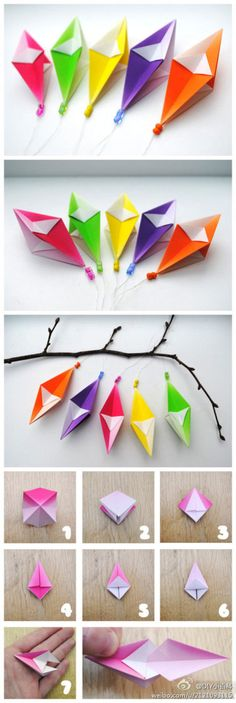 Candy-farbigen Blätter Darts