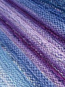 Luovat kädet: Vellamo Recycled Fabric, Woven Rug, Scandinavian Style, Rag Rugs, Pattern Design, Recycling, Weaving, Textiles, Carpets