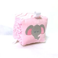 Embroidered Sensory Block (girl)
