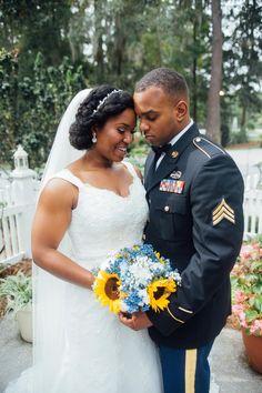 Southern Brunch Destination Wedding | Natural Hair Bride