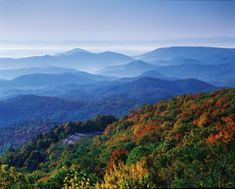 America's most scenic drive extends 470 miles linking Shenandoah and Great Smoky Mountains National Parks. Spectacular mountain vistas in all four seasons.
