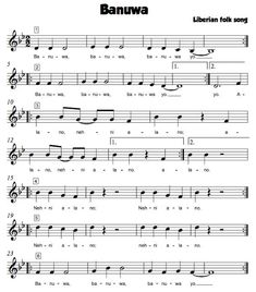 Beth's Music Notes: Songs with Whole Notes--great comprehensive list!