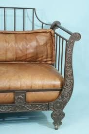 day bed with leather cushion - Google Search