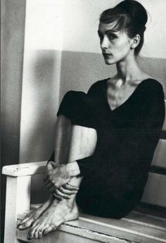 "design-is-fine: "" Pina Bausch, Folkwang School, Photographer: unknown. ""I loved to dance because I was scared to speak. When I was moving, I could feel. Pina Bausch, Modern Dance, Contemporary Dance, Body Cast, Dance Movement, Poses, Dance Photos, Dance Photography, Just Dance"
