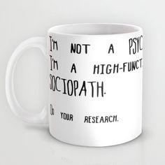 Coffee Mug  Sherlock Holmes Quote by RandomOasis on Etsy, $24.00