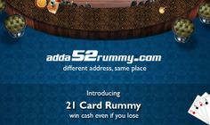 Adda52rummy.com specializes in 13-cards and 21-cards Rummy Online Game and is particularly tailor-made for Indian Online Rummy Lovers. http://www.adda52rummy.com