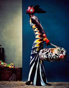 Extreme Tribal Fashiontography: Herring & Herring for D Mode Magazine