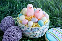 My Mom made one of these for us to use for the Easter Bunny's gifts. I think I am going to make one for Cael.