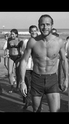 563a432a736 Paul Newman Trunks #swimwear Steve Reeves, Vintage Hollywood, Classic  Hollywood, Hollywood Glamour