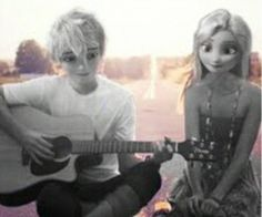 Elsa: You wrote me a song? That's so sweet of you babe. Jack: Anything for you, snowflake.