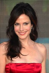 Mary Louise Parker... a Cool Winter..She glows in this colour