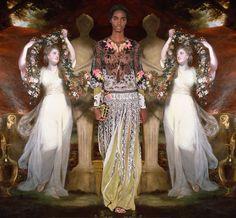 Cuando moda y arte se funden en una explosión de belleza y vida via @culturainquieta
